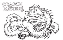 DragonMasters_ColoringWorm-1